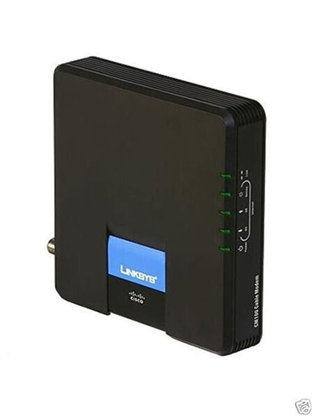 Cisco Linksys CM100 Cable Modem with USB and Ethernet Connections