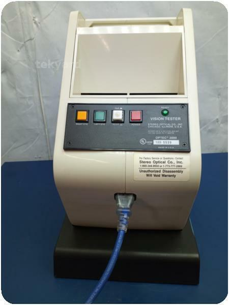 STEREO OPTICAL OPTEC 2000  VISION TESTER ! (273081)