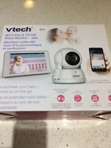"BRAND NEW VTECH PAN & TILT WI-FI 5"" TOICH SCREEN VIDEO MONITOR"