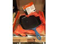 Cast Iron Le creuset grill pan
