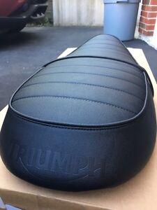 Original Triumph bonneville  seat (2015 model)