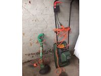 Black & decker lawnmower and strimmer £25 for the pair
