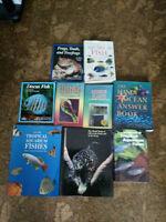 Aquarium books and magazines for sale