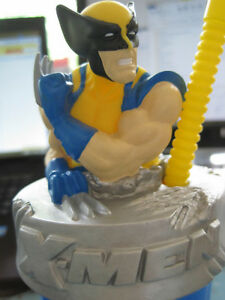 2006 X-Men Wolverine Cup with Molded Figure by Zak Designs