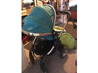 icandy peach. travel system