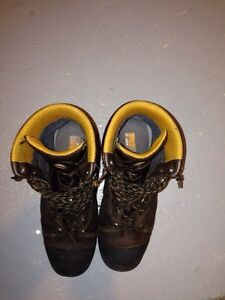 Steel toe work boots for sale ($75)