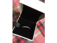 Pandora wave eternity ring new and boxed. Size 50.