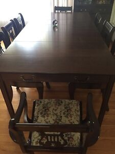 Kitchen dining room set with China!
