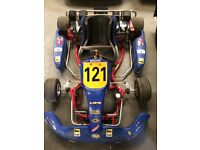 FANTASTIC TWIN-ENGINED PRO-KART GO-KART