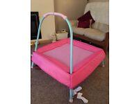 ELC junior pink trampoline