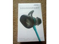 Bose soundsport wireless head phones