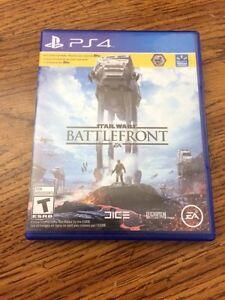 PS4 battlefront MINT London Ontario image 1