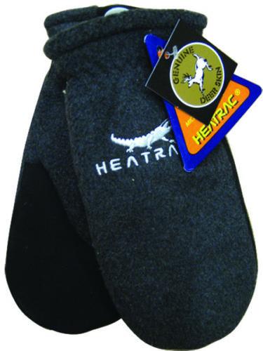 Caiman® 1396 - Deerskin Heatrac Insulated Fleece-Back Winter Mitten