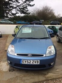 Ford Fiesta ghia only 30000 miles 12 months mot 6 months warranty