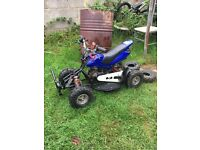 Kids Quad 49cc pull & go off road petrol