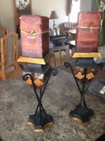 Accent candles w stands