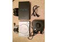 Bundle of mixed Sony and Nintendo games consoles