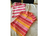 Genuine girls Tommy Hillfiger polo shirts age 12