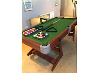 Kids 6ft snooker table