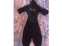 Ladies short wet suit