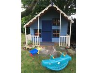 Gorgeous child's Wendy house play house