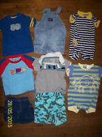 Boys Summer Clothing, Size 12 months