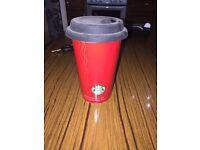Metal cup Starbucks