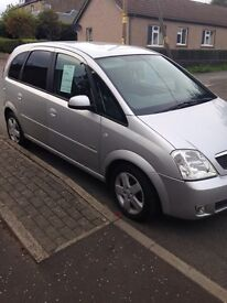 Vauxhall Meriva. Price drop for quick sale.