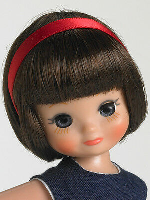 "HTF Tonner 8"" Tiny Betsy Vintage American Brunette Red White Blue Dress MIB"