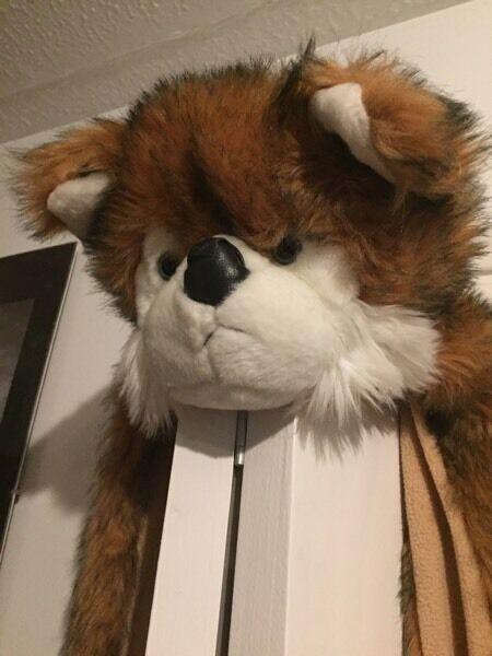 Fox Hat/Scarf