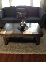 Harvest coffee tables - hand crafted