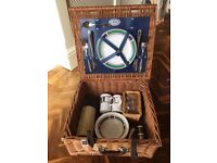 John Lewis 2 person picnic basket