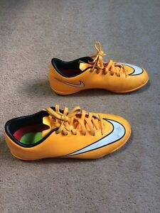 Soccer shoes. Child