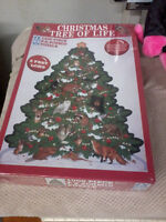 1000 pc puzzle 3ft Christmas tree New