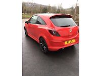 Vauxhall Corsa 1.2 Limted Addtion [RED]