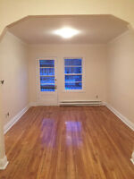 Renovated First Floor 4 1/2, Parking, Patio & Animals Allowed