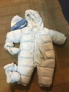 Size 12 month children's place snowsuit