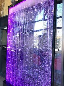 SALE !! GLOWING WATER BUBBLE WALLS & FOUNTAINS