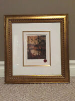 Framed Tom Thomson Limited Edition Print-Northern River $30