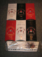 MCDONALDS 6 MINI JERSEYS TEAM CANADA with stand