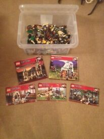 Collection of Harry Potter Lego