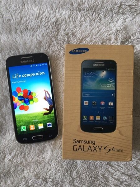 Samsung Galaxy S4 mini, unlocked, black colourin Wolverhampton, West MidlandsGumtree - Samsung Galaxy S4 mini, unlocked all networks.Black colour, excellent condition.With box and charger. Full working.Wolverhampton Bushbury £65 no offers