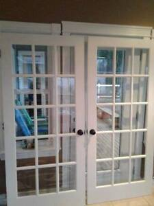 New Price!! Double French interior doors for sale. $150 OBO!!