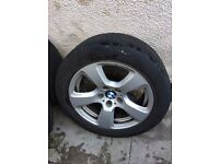 "Bmw 17"" Genuine E60 E61 5 Series Alloy wheel can post"