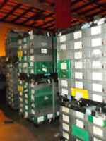 """Stacking Plastic Totes  15"""" x 24"""" x 7""""H"""