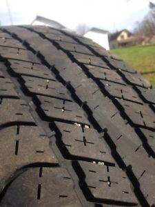 275/60-20 Goodyear Wrangler SRA - Set of 4 Kawartha Lakes Peterborough Area image 2