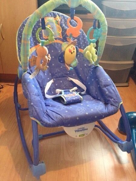 Fisher Price Baby Rocker With Box