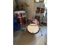 Ludwig Drum Kit - Questlove Breakbeats in Red Sparkle
