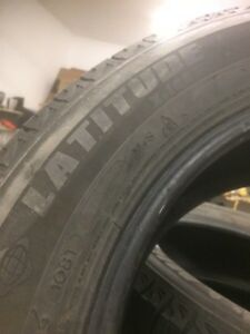 255 60 r19 Michelin Ice tires Prince George British Columbia image 2