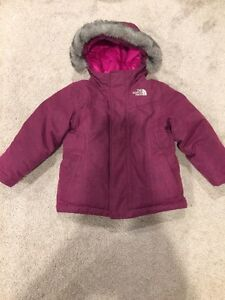 EUC 3T North Face Down filled jacket